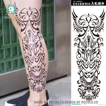 Ac 056best Quality Large Devil Temporary Tattoos Body Art Tattoo Stickersfull Arm Leg Buy Large Temporary Tattoofull Arm Tattoo Sticker