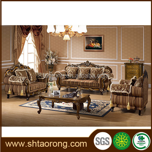 New classical royal french provincial furniture sofa