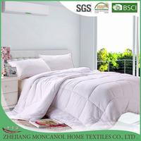 100 percent cotton fabric silk quilt/comforter