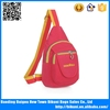 Alibaba china sales waterproof nylon chest bag small sling cross body bag