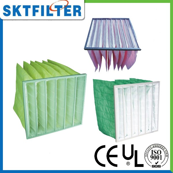 Premium quality pocket polyester dust collector filter bag