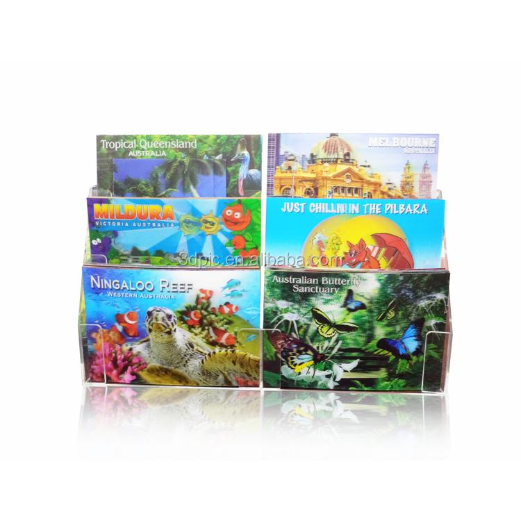 2019 hot sale 3d lenticular hologram custom postcards lenticular