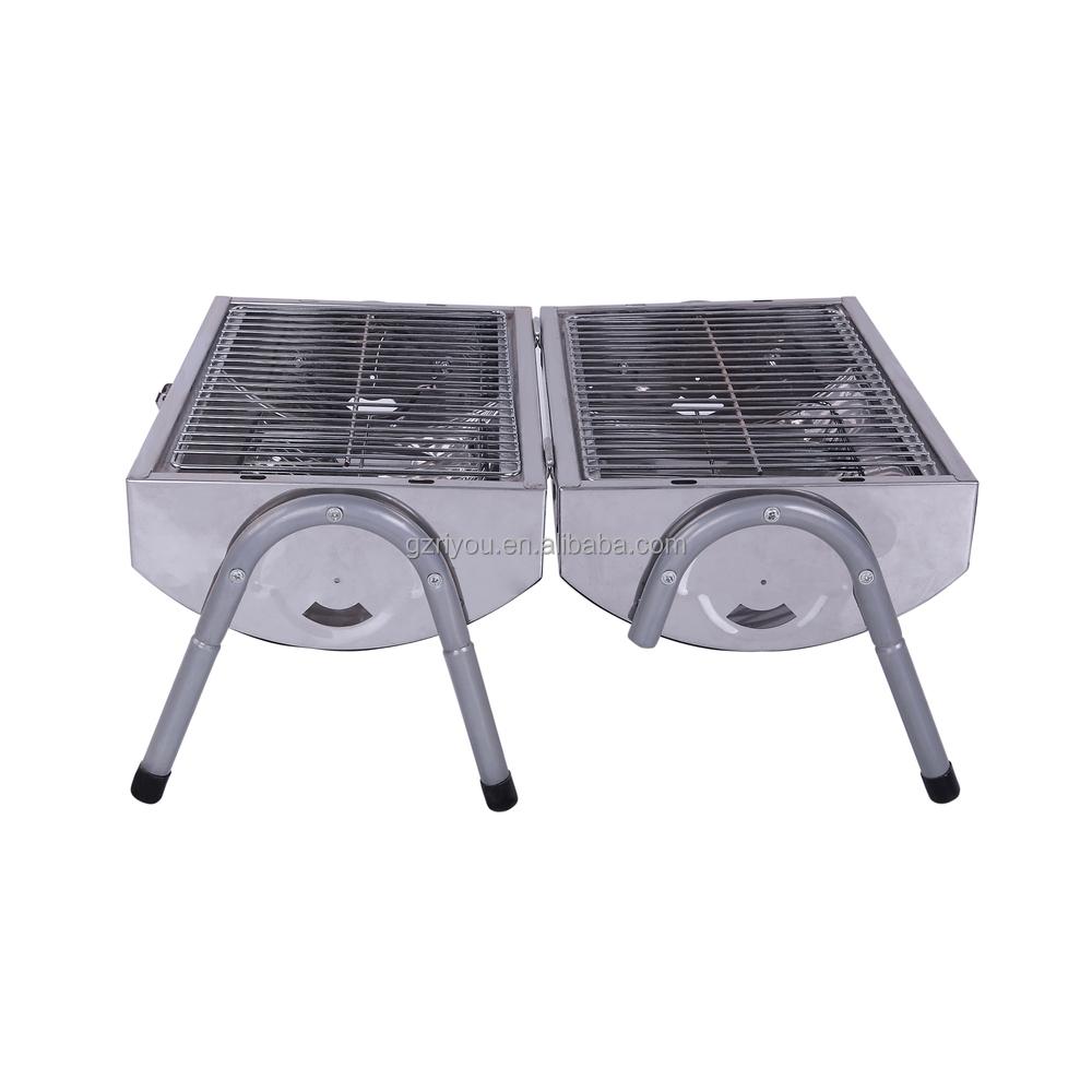 Portable Braai Stand Designs : Popular design park stainless braai bbq grill buy