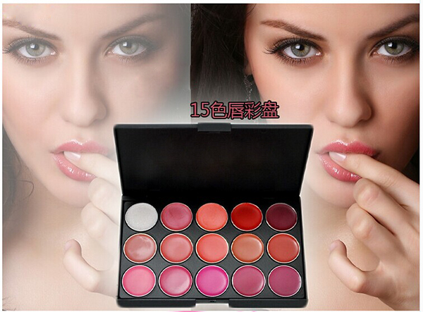 15 Colors makeup Lip Palette Lip Gloss