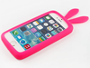 Universal rabbit ear silicone mobile phone case