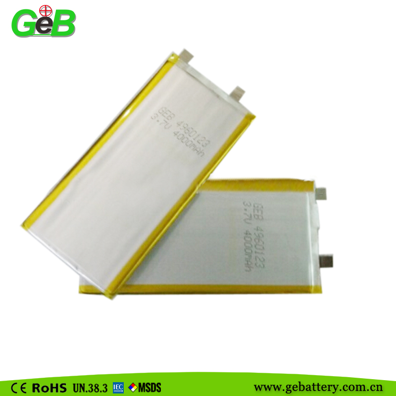 lithium ion battery 3.7v 5650122  rechargeable lithium ion battery 4000mAh