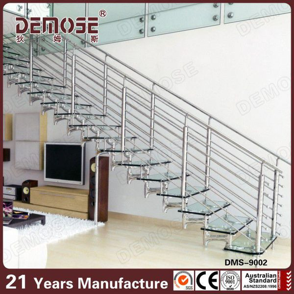 Glass Staircase / Residential Stairs / Movable Stairs