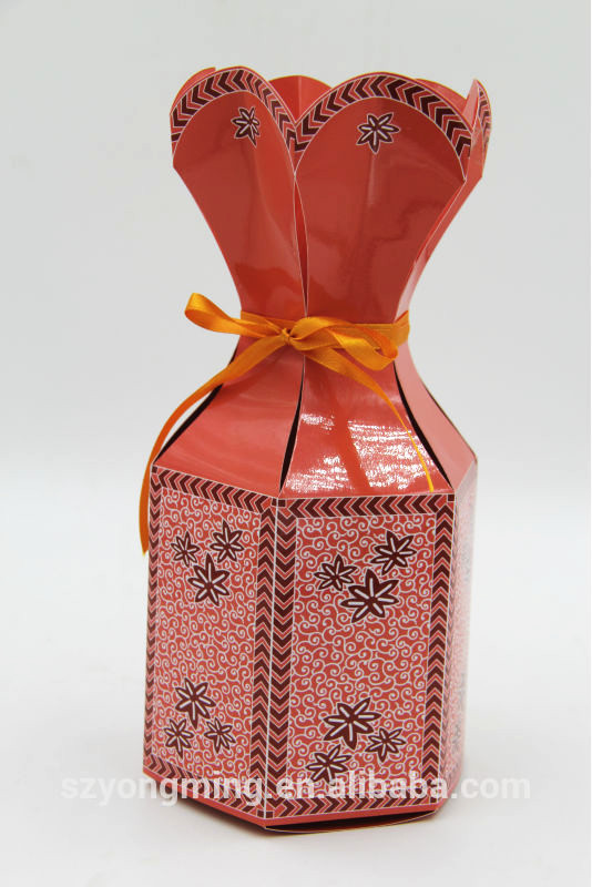 Creative Wedding Invitation Sweet Box With Cute Shape Design