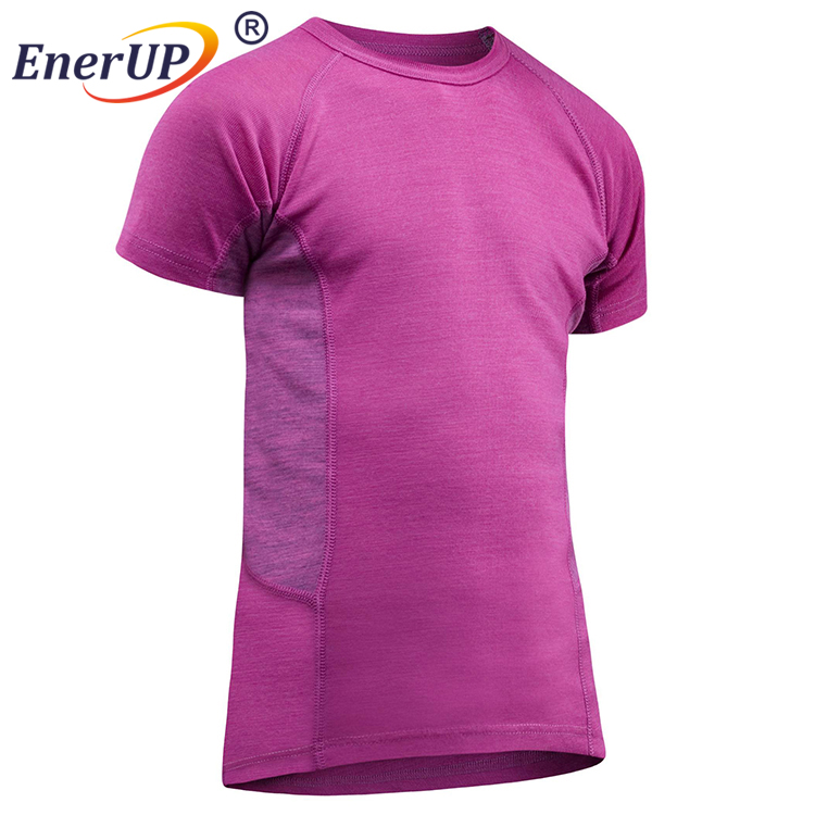 wholesale blank slim fit 100% polyester man sport t shirt