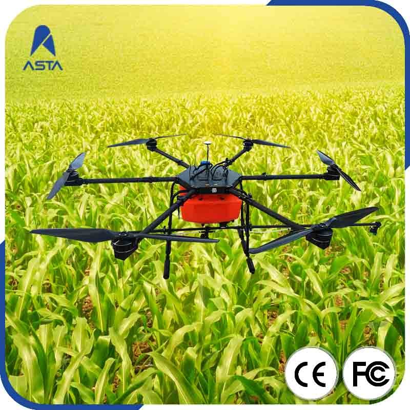 High power Agricultural drone sprayer UAV multi axis quadcopter brushless dc motor