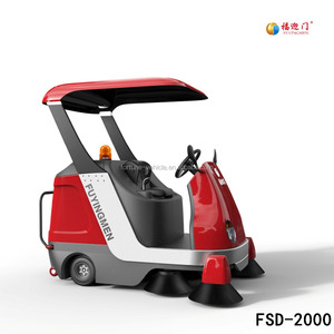 Popular Ride on Road Cleaning Machine/Electric Floor Sweeper