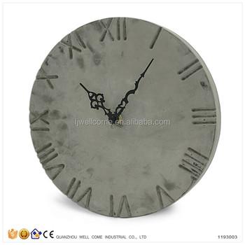 Cement Wall Art Outdoor Garden Clocks Buy Garden Clock Outdoor Garden Clocks Cement Wall Art Product On Alibaba Com