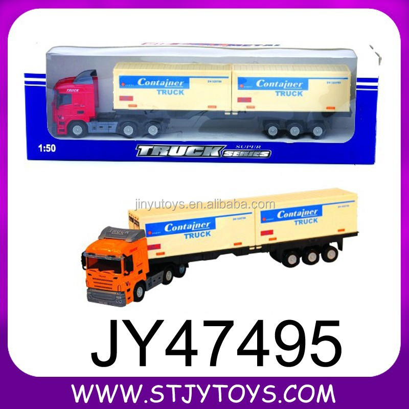 2015 new item 1:50 diecast container truck toys for sale