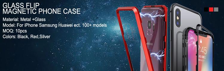 360 금속 프레임 유리 플립 커버 마그네틱 애플 아이폰 6 7 8X11 Pro max XS XS Pro Max
