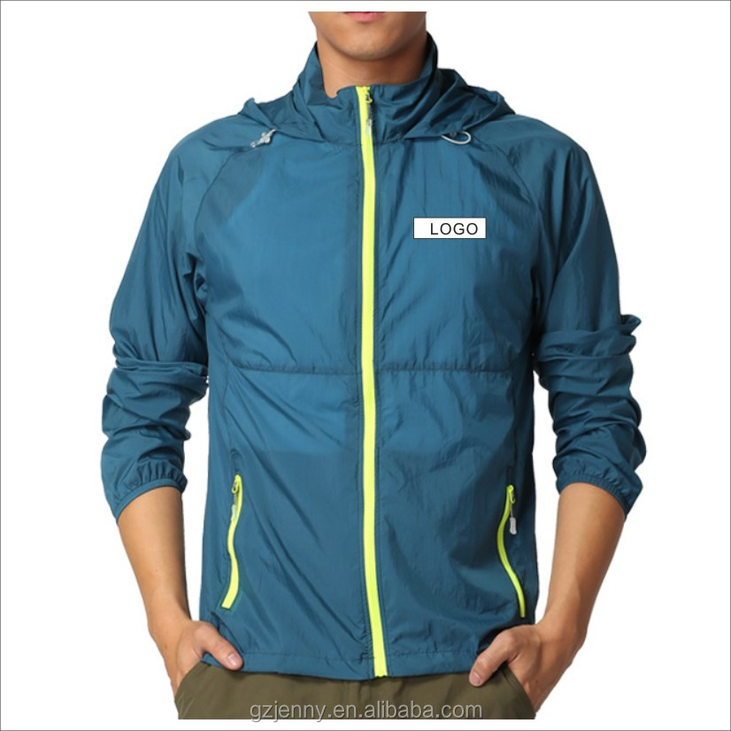 Men Sport Design Biker Running Plain Wind breaker Jacket