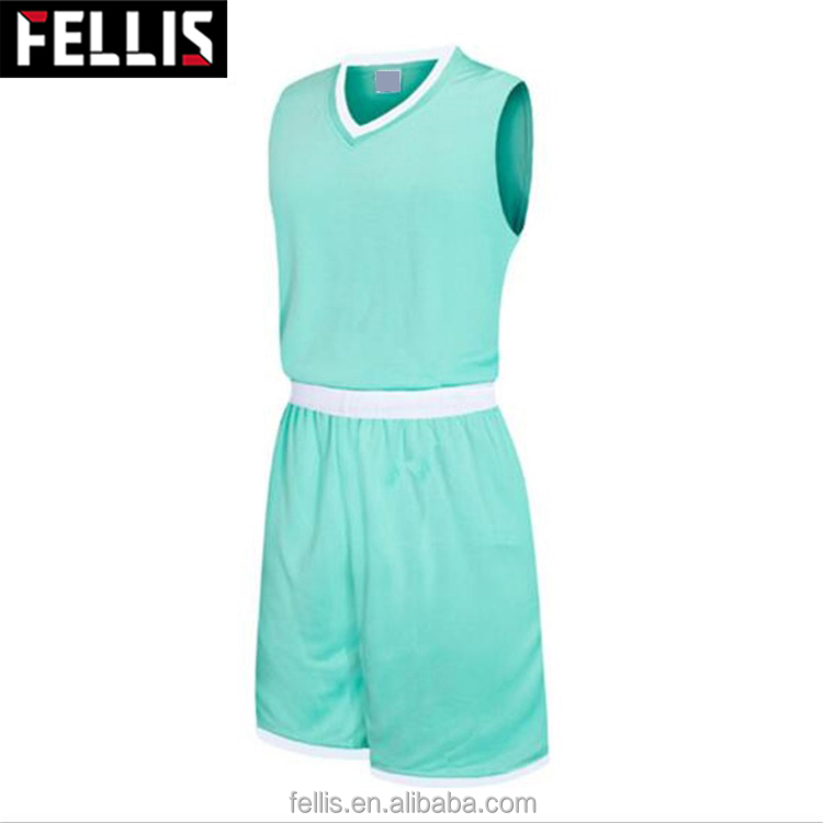 Billige uniforme reversible Basketballuniformen