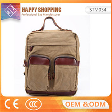 New Design Fashion Leisure Travel School Backpack Stock with Custom Logo