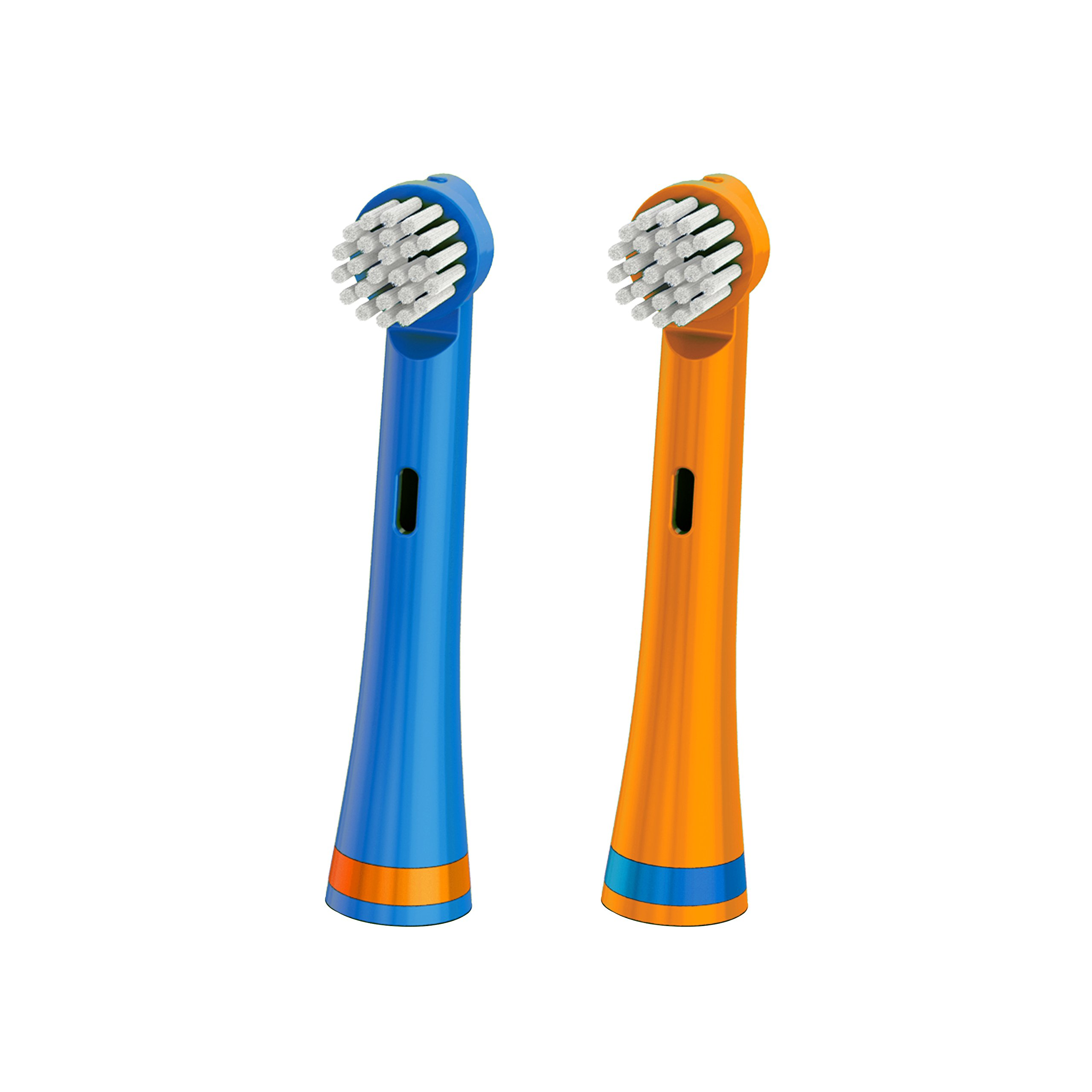 Brusheez Electronic Toothbrush Replacement Brush Heads (Buddy the Bear)–2 Pack