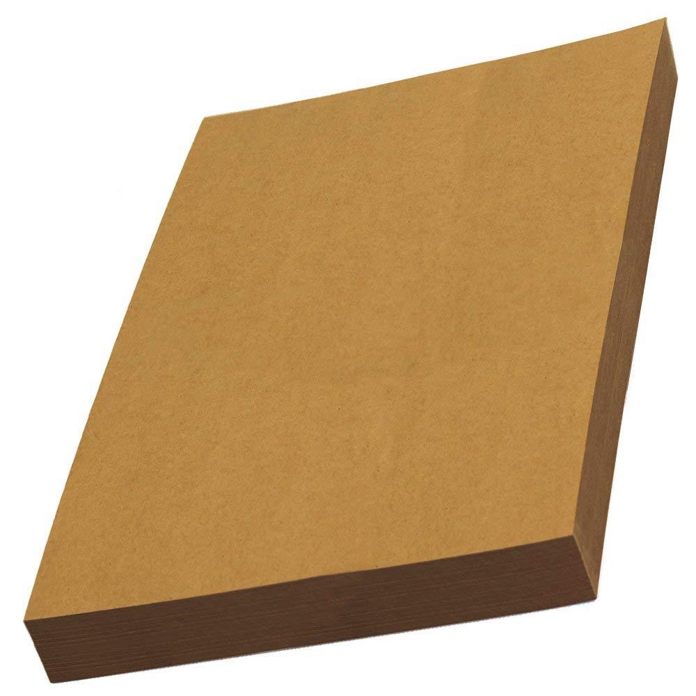 Buy LIWUTE Recycled Natural kraft card A4 300 gsm DIY Hand Make Card