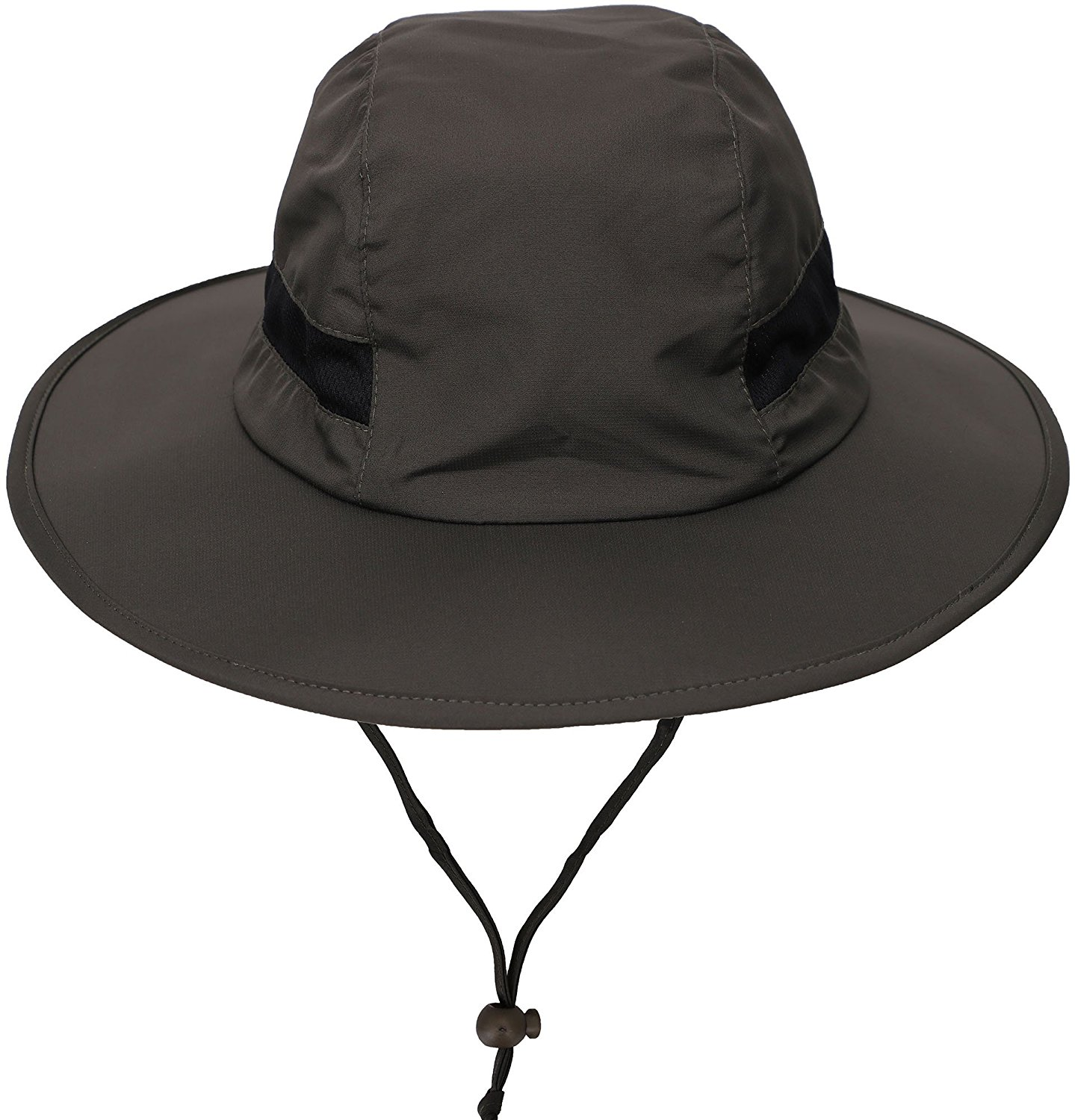 a4d5992682d73 Get Quotations · Waterproof Outdoor Bucket Hat SPF 50+ UV Protection Safari  Sun Cap Boonie Fishing Hiking Hat
