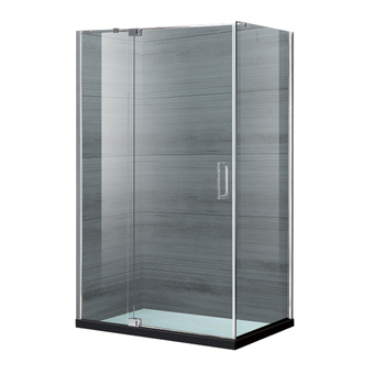Modern Frameless Tempered Glass Shower Cubicles Enclosure ...