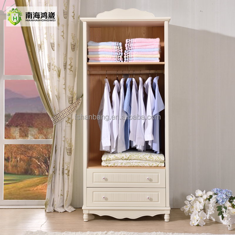 Petite Garde Robe enfants 2 porte en bois blanc petit petite armoire armoire garde