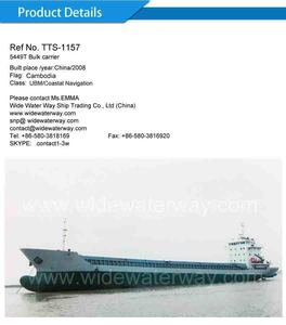TTS-1157:5448T Cargo ship for sale