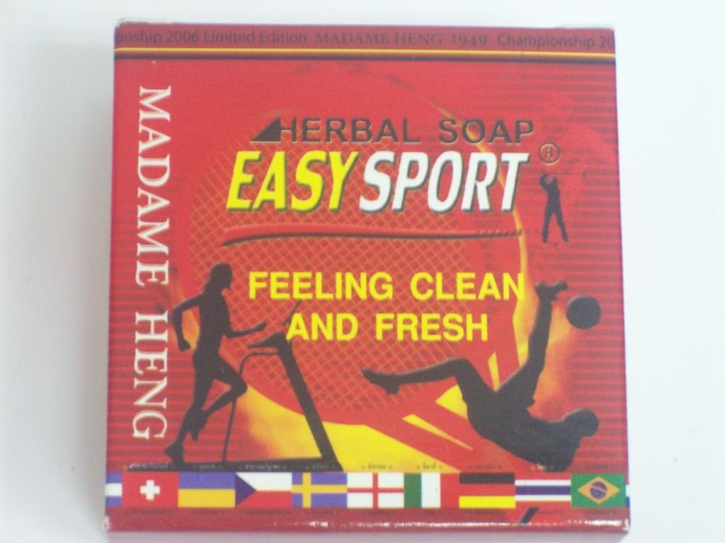 Herbal Soap Easy Sport (Madame Heng)