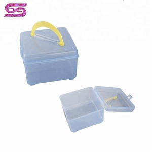 Home portable save space small storage boxes with lids