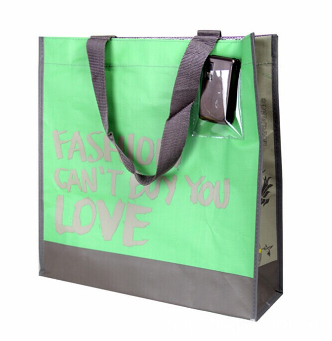 recyclable promotional shopping pp non woven bag
