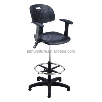 Lab Chair Without Wheels / Lab Adjustable Stool / Computer Lab Chairs