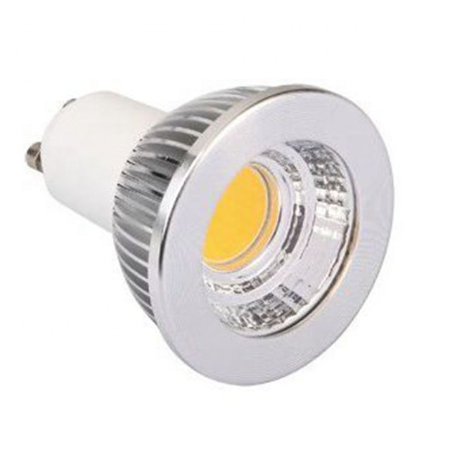 Indoor Ceiling Spotlight High Quality Spot Light Factory Price 5W 60 Degree Beam Angle Aluminum GU10 COB Bulbs