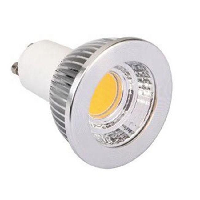 Indoor Ceiling Spotlight High Quality Spot Light Factory Price 5W 60 Degree Beam Angle Aluminum GU10 COB Bulbs