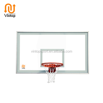 "60"" Rectangular Acrylic Glass Basketball Goal Backboard Replacement"