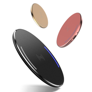 QI Colorful Wireless Charger,Mini Wireless Charger for Mobile phone with wireless charging function