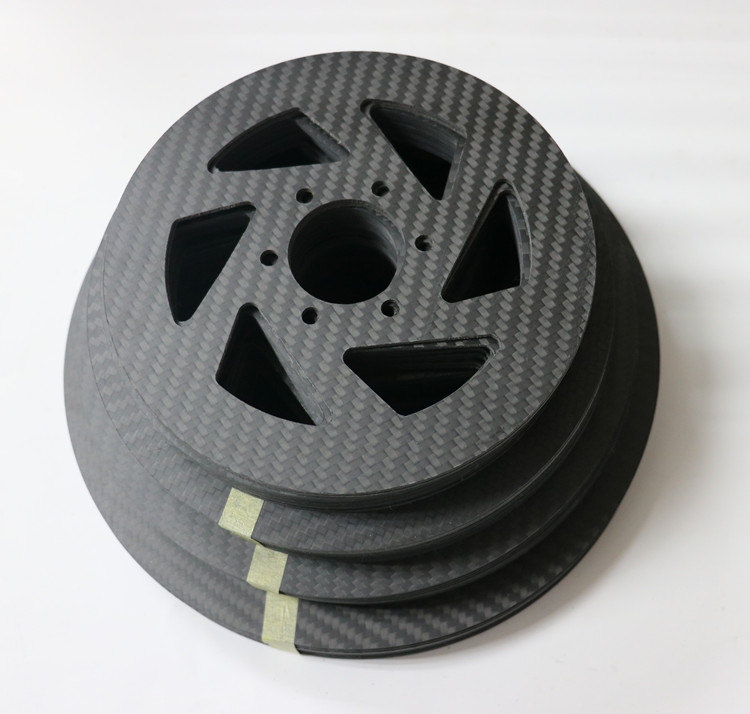 cnc coupe de volant base 3mm de fiber de carbone pr. Black Bedroom Furniture Sets. Home Design Ideas