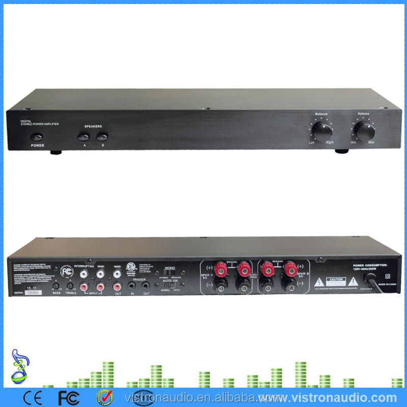 2 Channel Hi-Fi Audio Stereo / Digital Home Amplifier 100W Power AMP Module for the subwoofer