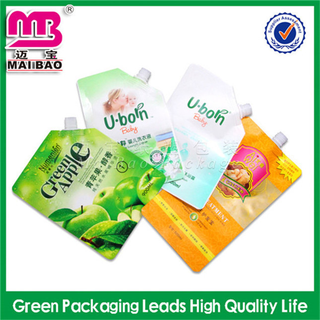 100% biodegradable high quality hard water detergent plastic sachet