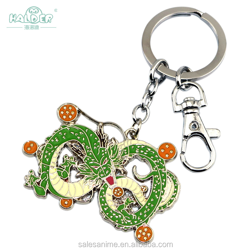 2017 Wholesale cheap anime kids Dragon Ball Alloy stainless steel Keychain