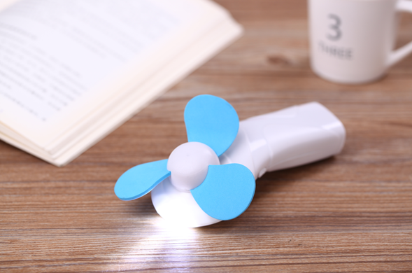 Unionpromo Mutil-function LED Handheld Mini Fan with Custom Logo for Wholesale