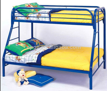 Dormitory Furniture School Iron Double Bed For Boarding