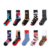 happy young boy teen tube combed cotton socks custom
