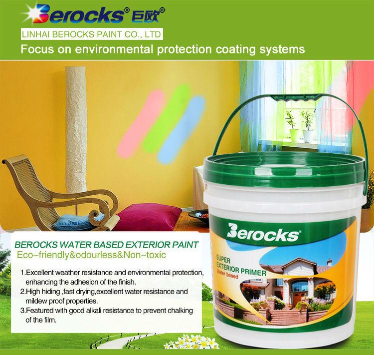 Hot Sale Water Based Exterior Primer Paint/exterior Paint Part 48