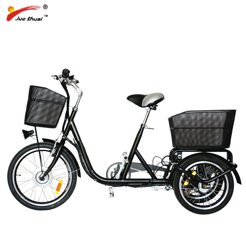Factory directly Family used 36V 250W adult Large electric tricycle for shopping (EB01)