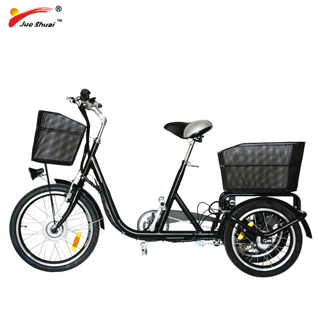 Factory directly Family used 36V 250W adult Large electric tricycle for shopping (JSE501)