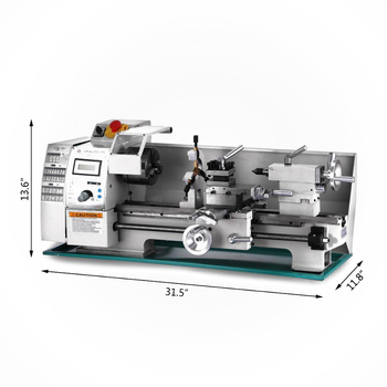 High Quality 750W 8x16 Inch Center frame lathe Metal Processing Variable Speed Lathe Metal Lathe