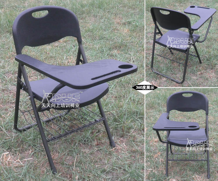 New Folding Writing Chair Of Student Big Tablet Arm Chair