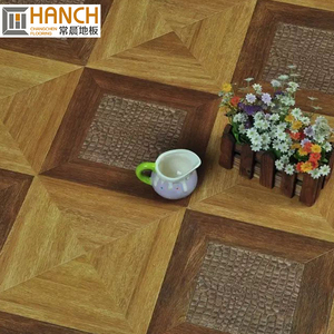 CE SGS Certified quality 12mm wood oak parquet flooring