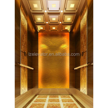 Luxury elevator cabin design for hotel use buy elevator for Luxury elevator