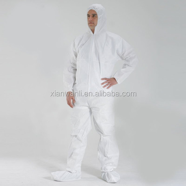 CE ISO13485 FDA certified disposable coverall